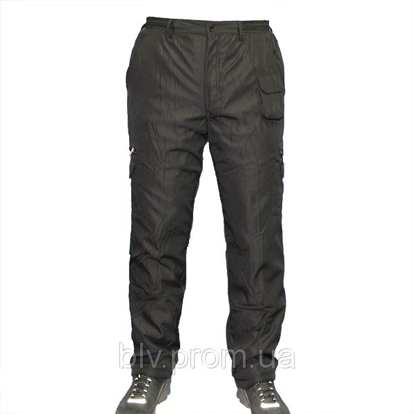 Мужские теплые спортивные брюки на флисе AHR4