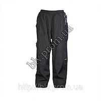 Зимние детские брюки плащевка на флисе AHR76D