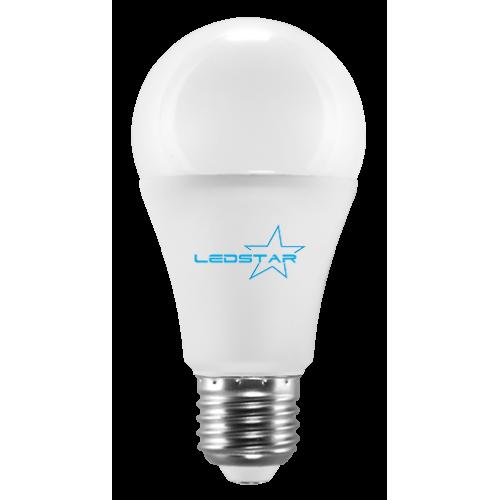 Светодиодная лампа LEDSTAR, 8W, E27, A60, 680lm, груша, 4000К, матовая