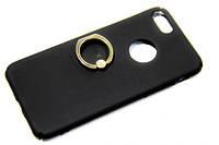 Plastic cover case for iPhone 7 с кольцом черный