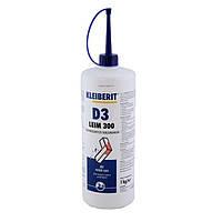 Клейберит 300.0 столярный ПВА клей Д3/Д4 (фасовка 1 кг)