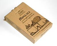 Мочалка с травами и натуральным мылом МБ1