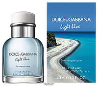 Light Blue Swimming in Lipari Dolce&Gabbana 40ml для мужчин