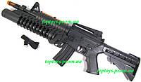 Штурмовая винтовка М-16, автомат, звук, свет, подвижный ствол, длина 54см