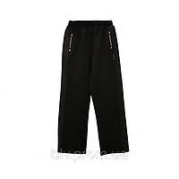 Детские брюки из трикотажа с вставками по бокам AZ17D