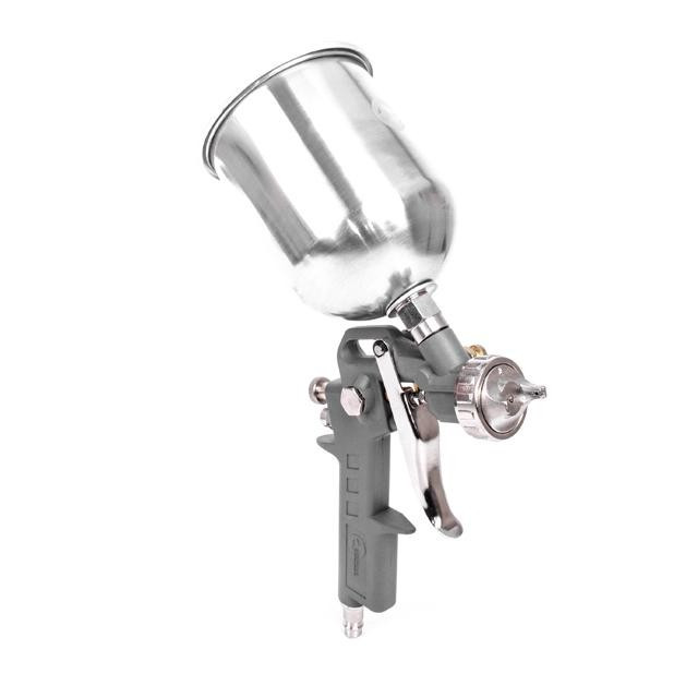 Краскопульт пневматический HP, форсунка 1.5мм, верхний металлический бачок 600мл, 5bar INTERTOOL PT-0205