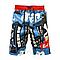 Мужские шорты-бермуды с абстрактным принтом BS225