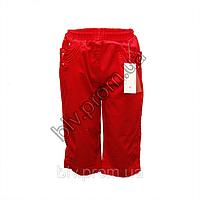 Подростковые бриджи стрейч-коттон с красивой вышивкой на карманах BTP1014P, фото 1