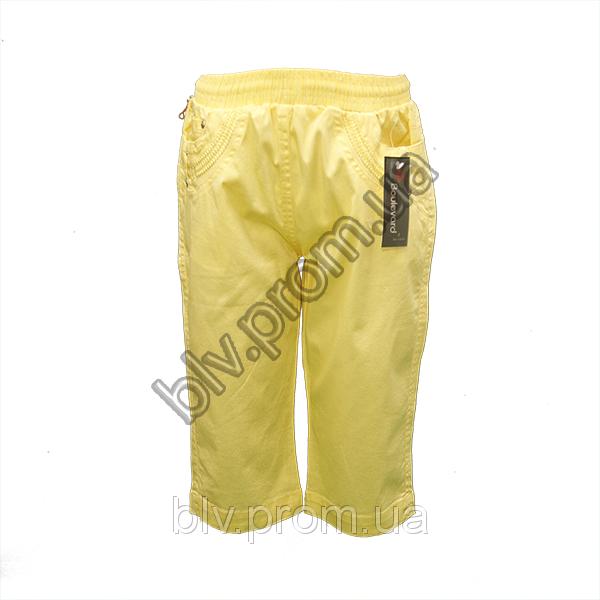 Подростковые стрейчевые бриджи с вышивкой на карманах BTP1014P
