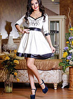Нарядное женское платье Ангелия, 42-44, 46-48р