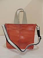 Кожаная сумка для женщин (Италия) Розовый, фото 1