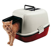 Ferplast Magix Закрытый туалет для кошек с системой просеивания