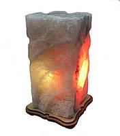 Соляной светильник прямоугольный Шишка