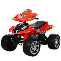 Детский квадроцикл M 2403ER-3 колеса EVA, красный***