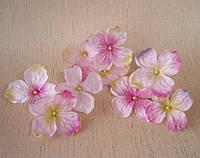 Веточки-насадки гортензия розовая  5 шт., фото 1