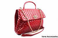 Элегантная женская сумочка Bonilarti Oalengi цвет красный, эко-кожа