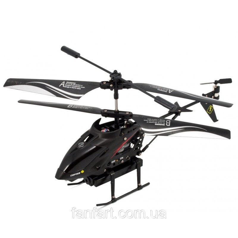 Вертолёт 3-к микро и/к S977 с камерой/П