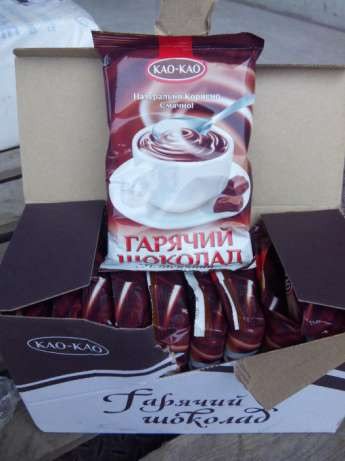 Горячий шоколад 100 гр