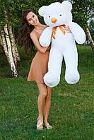 Большой плюшевый мишка,мягкая игрушка 120см белый