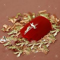 """Металлические логотипы """"YSL"""" для дизайна ногтей"""