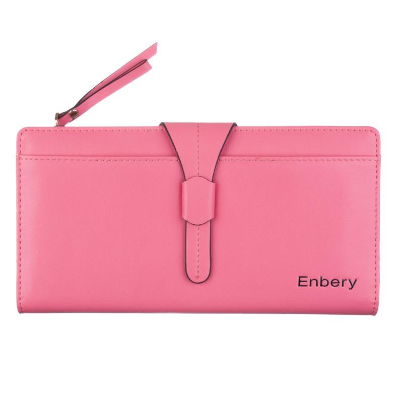 Портмоне клатч кожаный Enbery EB6804231 розовый