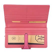 Портмоне клатч кожаный Enbery EB6804231 розовый, фото 2