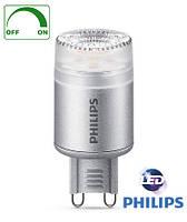 Диммируемая светодиодная лампа-капсула с цоколем G9 Philips 2,5Вт Ø22x58 с теплым светом