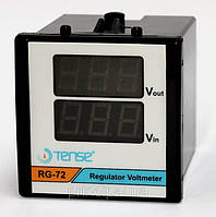 Вольтметр цифровой два значения щитовой 72х72 цена электронный переменного електронний шкаф вольтмет