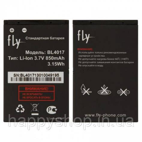 Оригинальная батарея Fly DS125 (BL4017), фото 2
