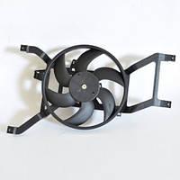 Вентилятор охлаждения в сборе (с 2008 года) на авто без кондиционера Logan/MCV/Sandero 1.4/1.6 QSP-M