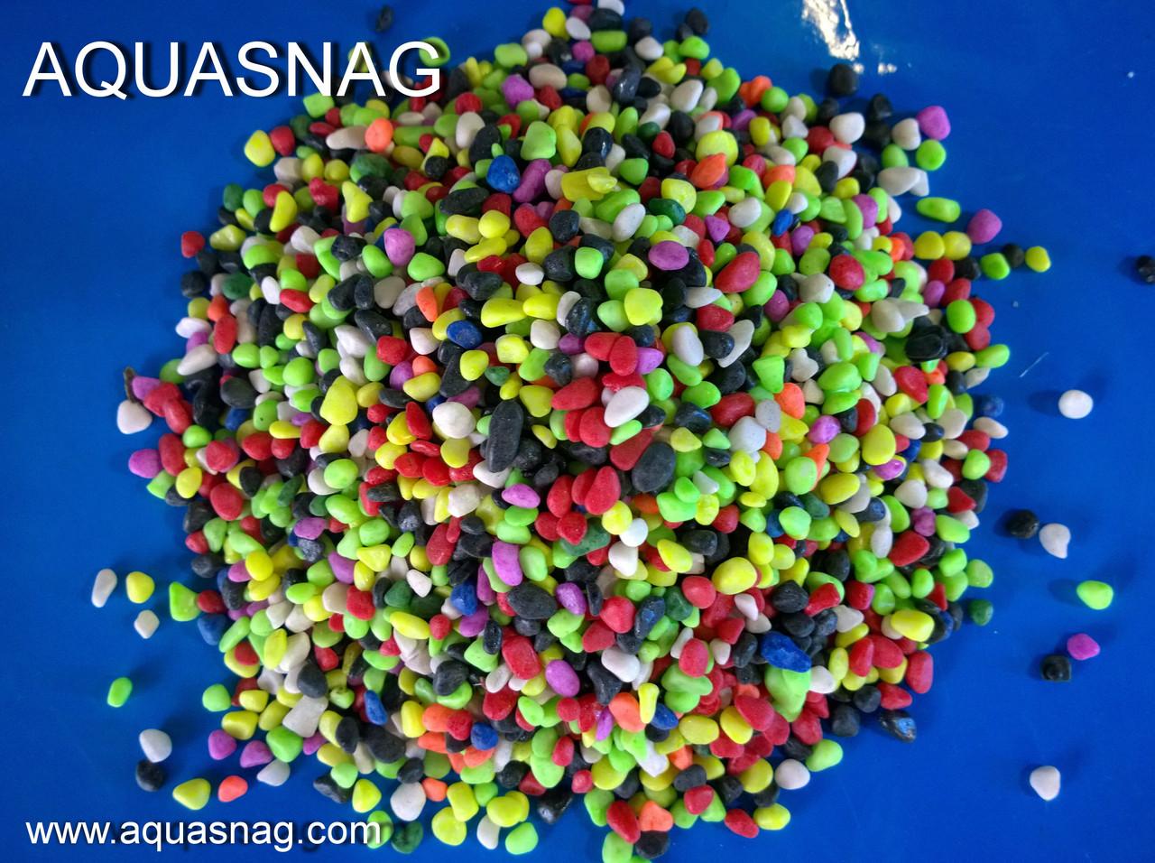 Грунт разноцветный фракция 5мм