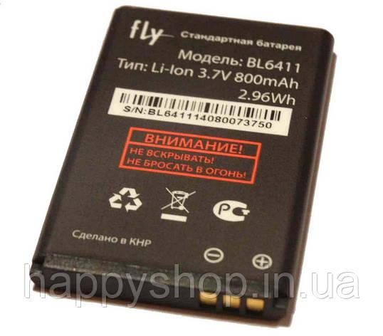 Оригинальная батарея Fly DS107D (BL6411), фото 2