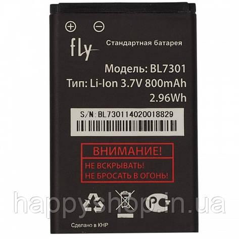 Оригинальная батарея Fly TS91 (BL7301), фото 2