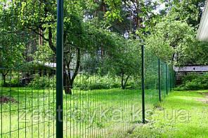 Рулоны ограждения  ЗАГРАДА КЛАССИК +ПВХ 1.5х10м 50х100мм