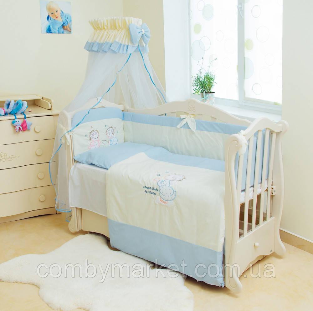 Детская постель Twins Evolution Ангелочки А-006 7 эл.