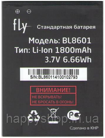 Оригінальна батарея Fly iQ4505 ERA life 7 (BL8601), фото 2