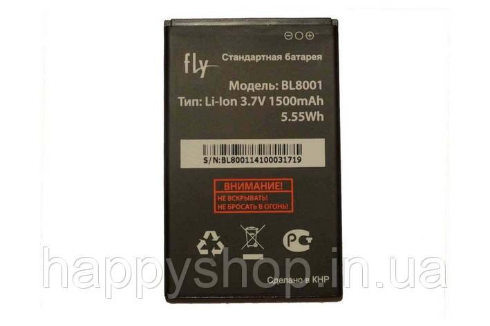 Оригинальная батарея Fly iQ436 ERA Nano 3 (BL8001), фото 2