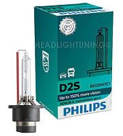 Ксеноновая лампа  Philips D2S X-tremeVision gen2 85122XV2C1 +150%, фото 1