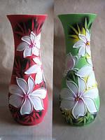 Купить высокие вазы оптом Цветы и Осенние листы в Украине