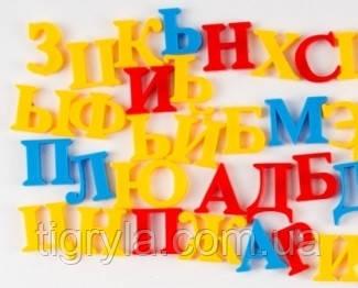 Набор букв, магнитный алфавит русский, украинский и английский, буквы на магнитах для мольберта , фото 2