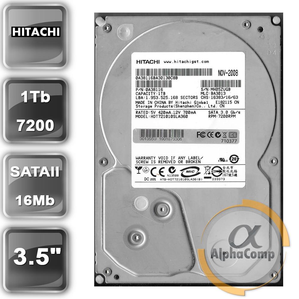 "Жесткий диск 3.5"" 1Tb Hitachi HDT721010SLA360 (16Mb/7200/SATAII) БУ"