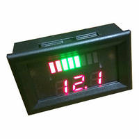 Измеритель емкости аккумулятора, вольтметр 12 В