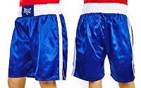 Трусы боксерские ELAST МА-6009-B (PL, р-р S-XL, синий)