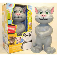 """Говорящая игрушка """"Кот Том"""" (русский язык, повторяет и другие функции), 741S"""