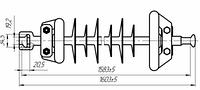 Изолятор ЛК 70-150
