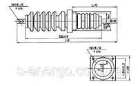 Изолятор ИП-35/1000-7,5 УХЛ1