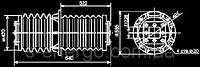 Изолятор ИП-10/10000-42,5 УХЛ2