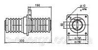 Изолятор ИП-10/1000-7,5(без шины)