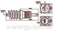 Изолятор ИП-35/1000-7,5 УХЛ2