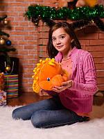 Интересная мягкая игрушка 32 см Рыбка Колючка